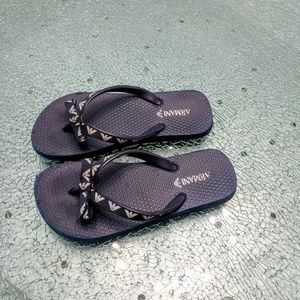 Armani flip flops
